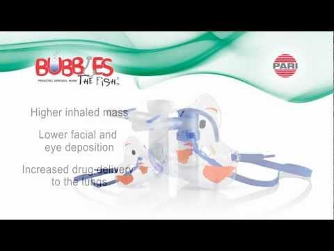 Pari Pediatric Aerosol Mask Animated Video video