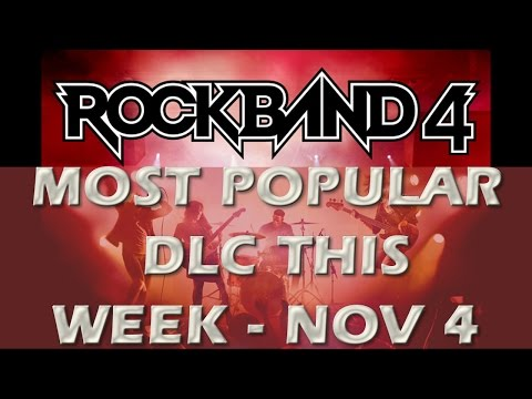 Rock Band 4 Top Selling Songs of This Week - November 4th, 2015, New #1 Song!