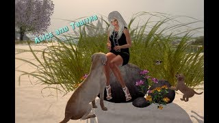 Alice and Tabitha in Second Life