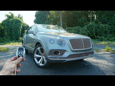 2017 Bentley Bentayga W12: Start Up, Walkaround, Test Drive and Review