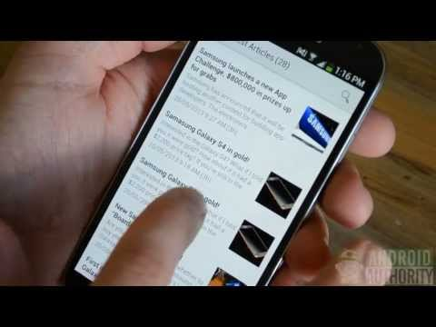 Samsung Galaxy S4 : How to take a screenshot