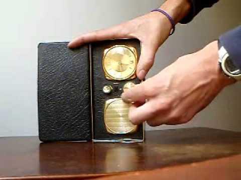 Radio antigua RADIO TIME - reloj despertador