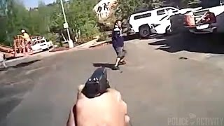 Bodycam Shows Moments Leading Up To Flagstaff Police Shooting
