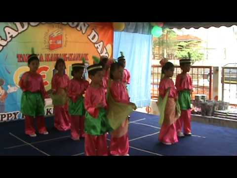 Tadika Kanak-kanak Ceria tarian Tradisional video