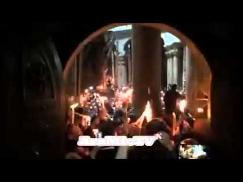 light in jerusalem for orthodoxe easter