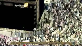 الشيخ عبدالرحمن السديس ينعى الملك عبدالله