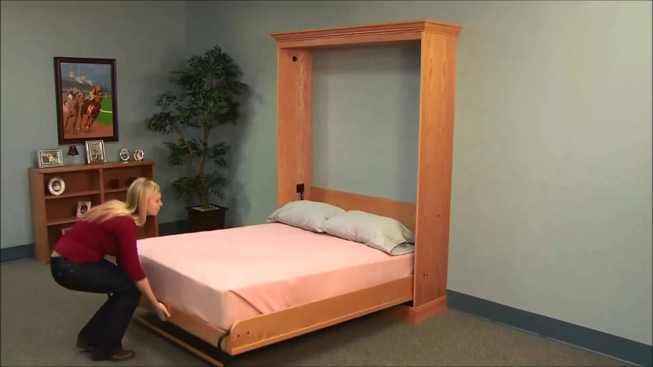 cama de pared youtube