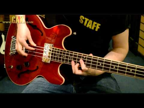 Gibson - Midtown Standard Bass Demo at GAK