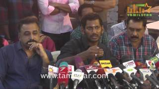 Nadigar Sangam Press Meet On Building Issue