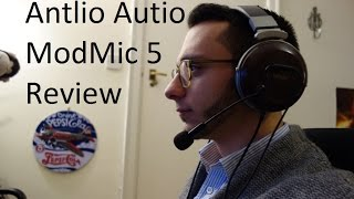 Antlion Audio ModMic 5 review - ModMic 4.0 vs ModMic 5 comparison - By TotallydubbedHD
