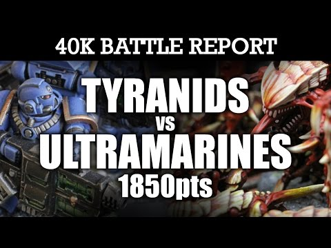 warhammer battle report tyranids 7th