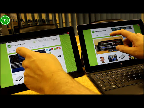 Microsoft Surface 2 Unboxing and first look