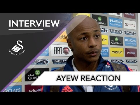 Swans TV - Reaction: Ayew on Villa win