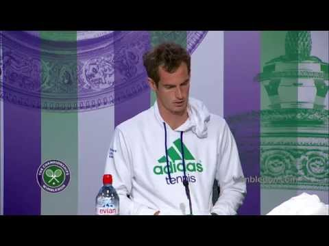 Andy Murray on a nervous Wimbledon 2014 debut