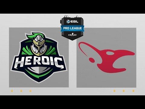 CS:GO - Heroic vs. Mousesports [Nuke] Map 1 - ESL Pro League Season 5 - EU Matchday 16