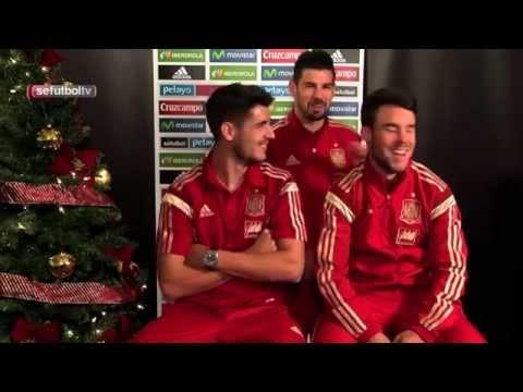 Tomas falsas en la felicitación navideña de la Selección Española