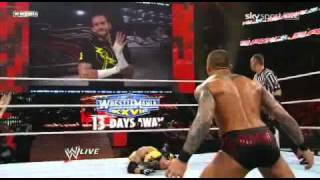 WWE Raw 3/21/11 Orton vs Mysterio PT2
