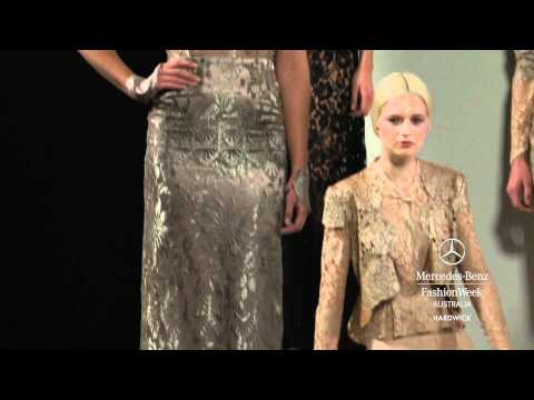 HARDWICK - MERCEDES-BENZ FASHION WEEK AUSTRALIA SPRING SUMMER 2012/13 COLLECTIONS