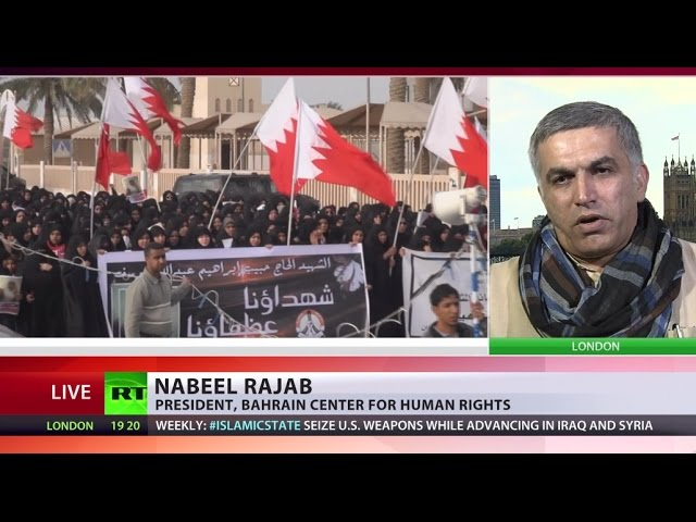 'Hundreds in jail for exercising their human rights in Bahrain'