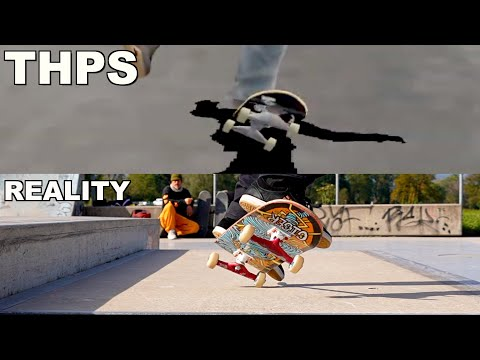 THE HARDEST TONY HAWK SPECIAL TRICKS IN REAL LIFE