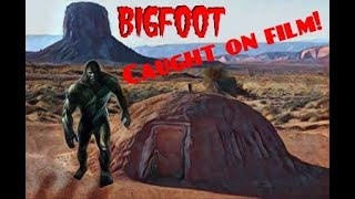 Bigfoot on the Navajo rez