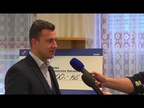 Baník věnoval nemocnici 80 tisíc korun