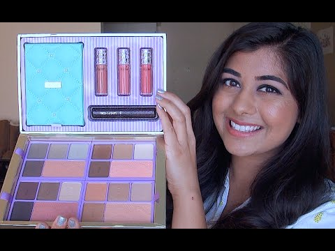 Tarte Away Oui Go Holiday 2014 Set Review & Swatches!