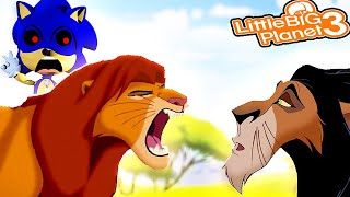 Sonic & The Lion King *Simba's Pride* | LittleBigPlanet 3