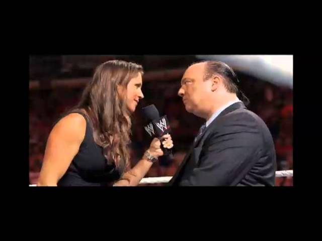 Paul Heyman Speaks to Peter Rosenberg about Punk, Brock, Stephanie, and More!