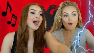 Albanian Music Reaction Tayna Butrint Melinda Noizy Ledri Mozzik