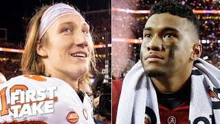 Trevor Lawrence is better than Tua and Clemson is better than Alabama - Paul Finebaum | First Take