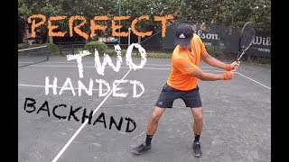 How To Hit Perfect Two Handed Backhand (TENFITMEN, Episode 30)