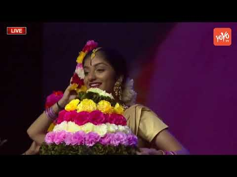 NRI Kids Telangana Cultural Dance Performance World Telangana Convention 2018 | ATA | YOYO TV