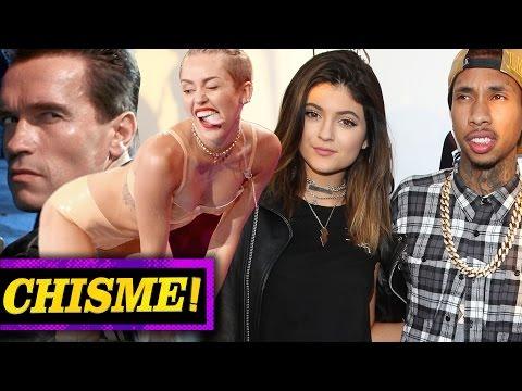 Miley Cyrus le Bailo Twerk a Arnold Schwarzenegger y Kylie Jenner Embarazada- ¡Chismelicioso!