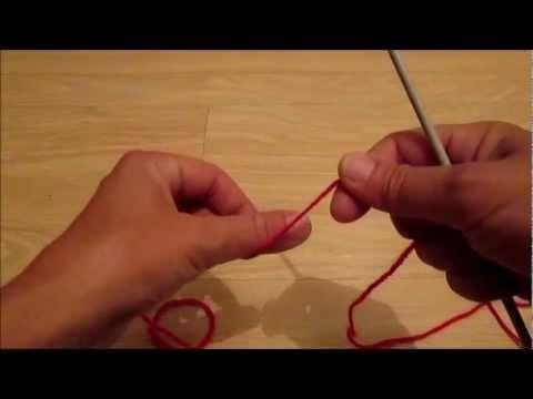 video apprendre a tricoter une echarpe