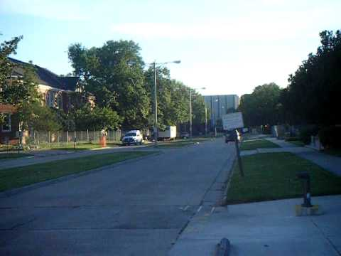 University of Louisiana at Lafayette, Louisiana, Hebrard Blvd Video