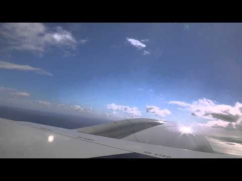 JAL Boeing777-200 takeoff from Honolulu international airport