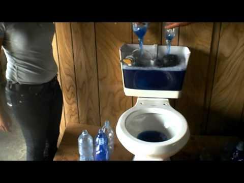 Sistema Ahorrador De Agua Para Tanque Sanitario Youtube
