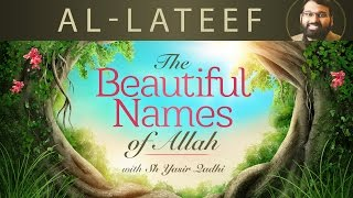 Beautiful Names of Allah (Pt.12)- Al-Lateef - Dr. Shaykh Yasir Qadhi