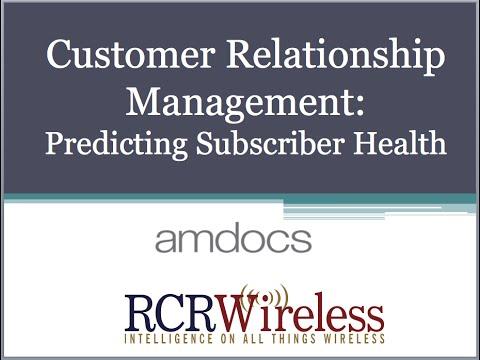 Editorial Webinar: Customer Relationship Management: Predicting Subscriber Health