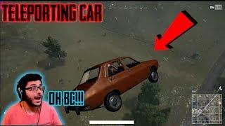 HACKER vs CARRY   TELEPORTING CAR AND AUTO AIM   PUBGM Highlight