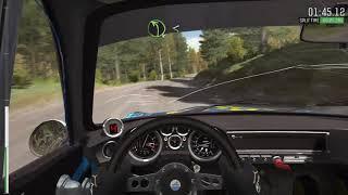 DiRT Rally Finland -Renault Alpine A110
