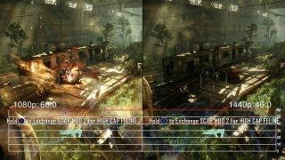 Crysis 3 on Radeon HD 7990: 1080p vs. 2560x1440 Frame-Rate Tests