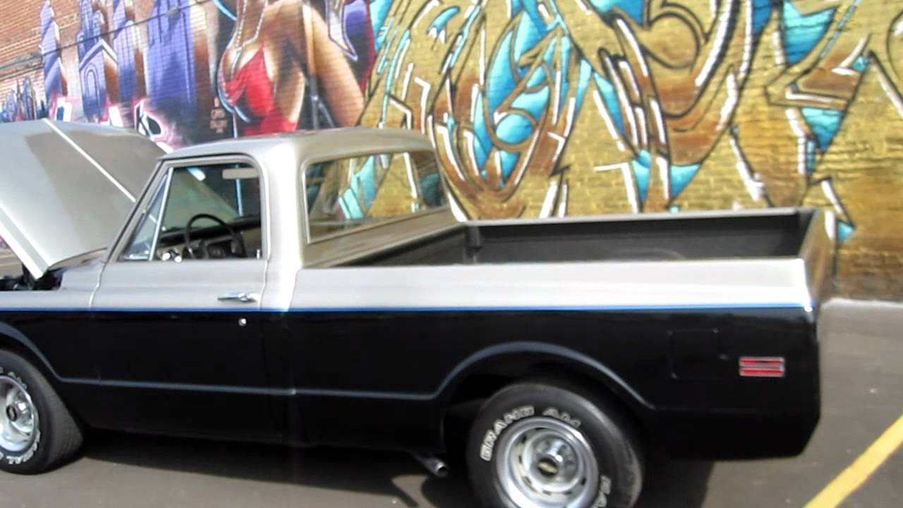 1969 Chevy Truck For Sale >> 1969 Chevrolet C-10 Custom Shortbed For Sale! - YouTube
