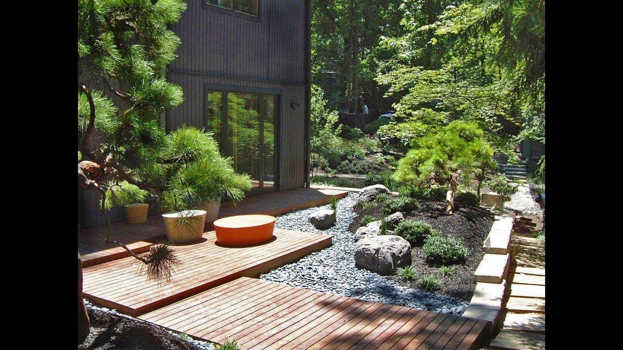 oriental garden designs ideas