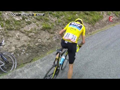 VIDÉO – 19e étape : Nibali profite d'un incident mécanique de Froome pour attaquer !