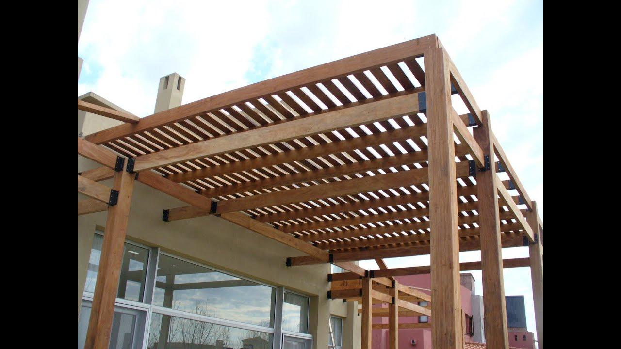 P rgolas de madera del muebles de madera for Pergolas para jardin