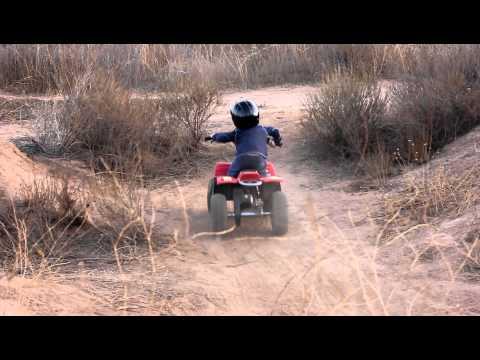 2 Yr Old On Quad Bike video