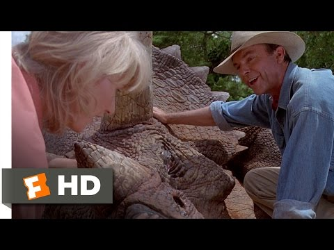 Jurassic Park Movie Clip - watch all clips http://j.mp/wytahh click to subscribe http://j.mp/sNDUs5 Dr. Ellie Sattler (Laura Dern) examines dino droppings in...
