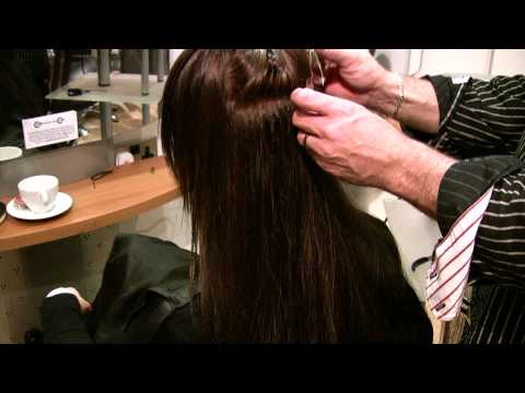 Hair Extensions Great Lengths Cold Fusion Demonstration - London...